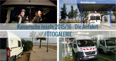 Kanarische Inseln 2015/16 – Die Anfahrt [Fotogalerie]