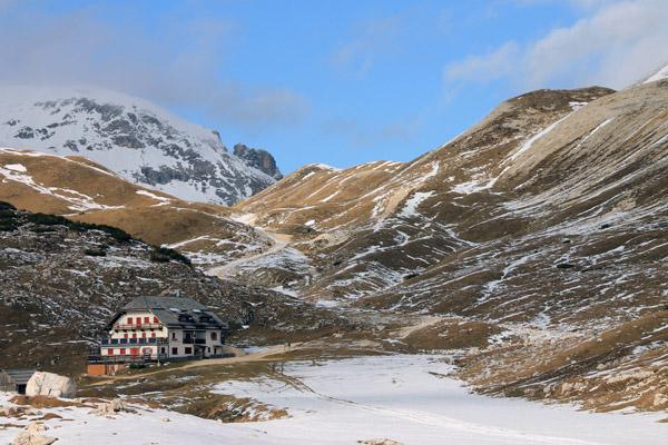 Sennes-Hütte auf 2126 m