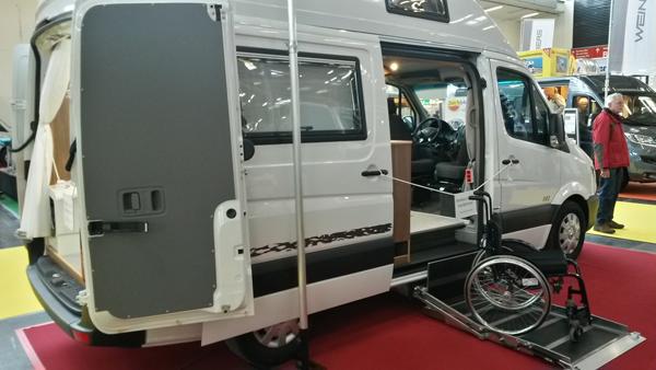 Behindertengerechtes Wohnmobil von HRZ
