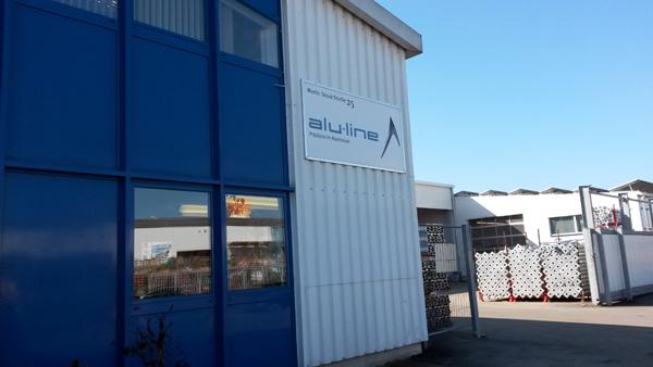 Der Firmensitz von ALU-LINE