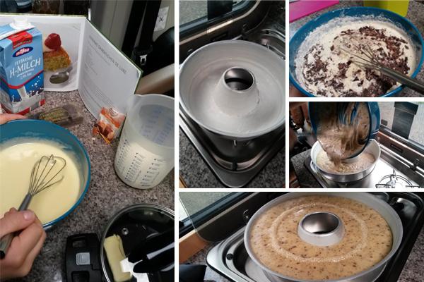 Backen im Omnia Rührkuchen