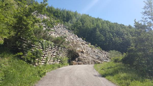 Mountainbiken im Apennin