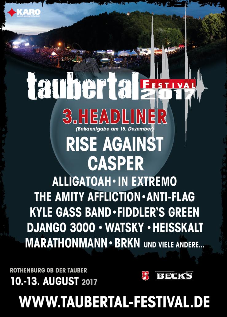 Unheilig, Taubertal Festival, 5. August