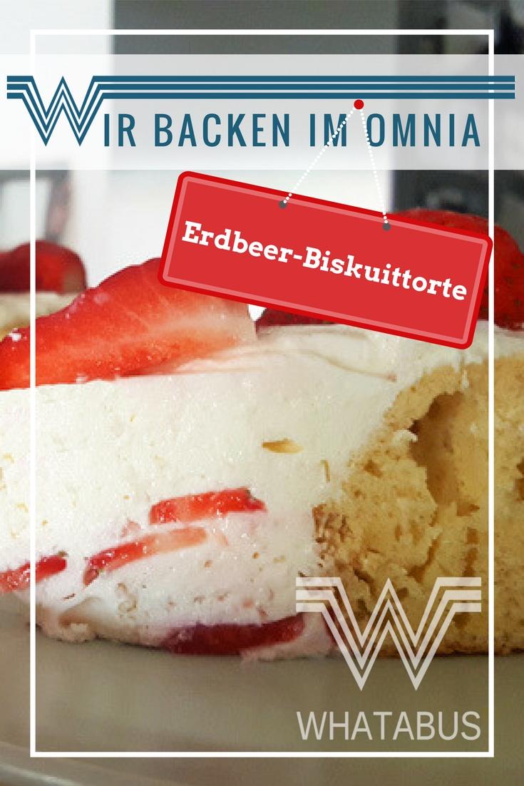 Erdbeer-Biskuittorte aus dem Omnia