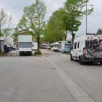 Wohnmobilstellplatz Area sosta Certaldo, Toskana