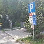Wohnmobilstellplatz Poggibonsi, Toskana
