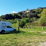 Wohnmobilstellplatz Radicondoli, Toskana