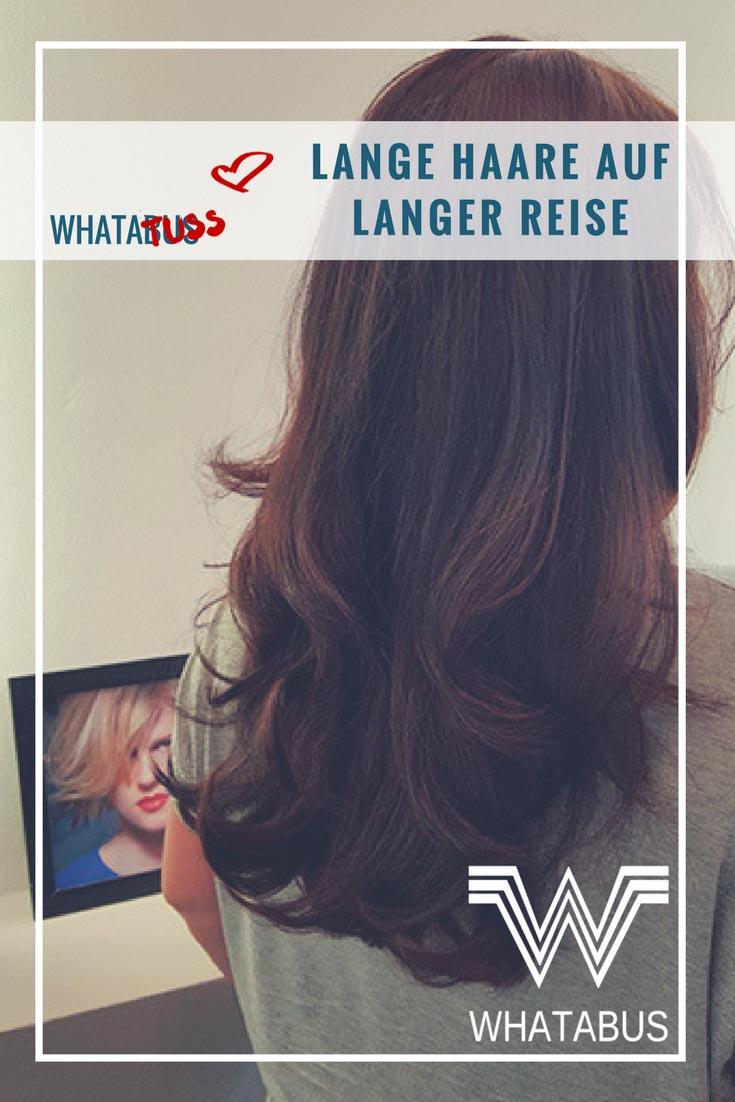 Lange Haare auf langer Reise - Haare waschen beim wilden Campen
