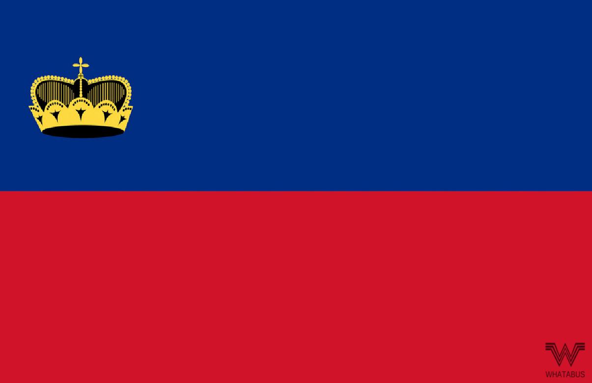 Flagge Lichtenstein