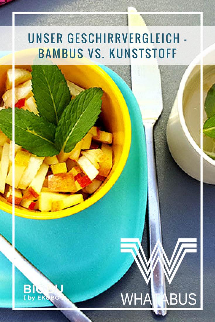 Unser Geschirrvergleich - Bambus vs. Kunststoff