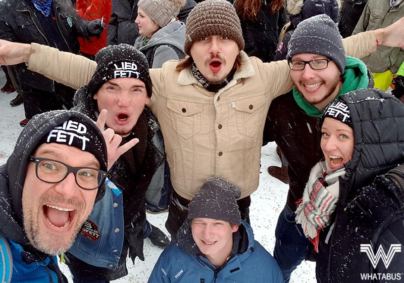 WHATABUS-Wintertour 2017/18 - 01: Es geht los - Bergfestival und Jesolo