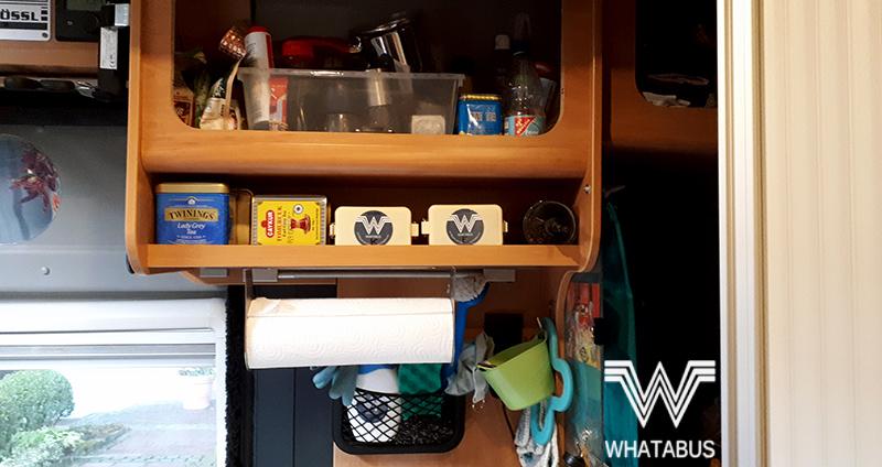 Einblicke In Unser Vanlife So Organisieren Wir Unsere Kuche Im