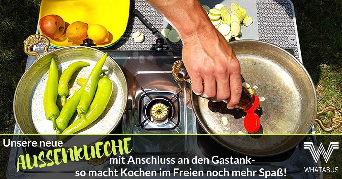 Gasherd Für Außenküche : Unsere neue außenküche mit anschluss an den gastank so macht