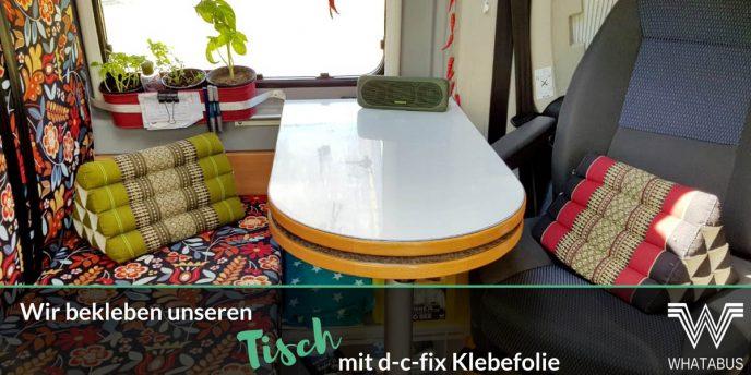 Whatabus das online magazin f r mobile camper magazin for Klebefolie granitoptik